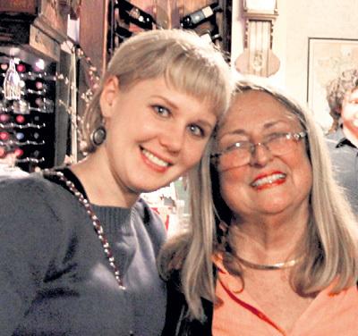 Татьяна ФРЕЙДЕНССОН с племянницей Германа ГЕРИНГА - Элизабет