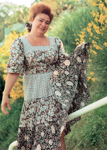 Галина Леонидовна была женщиной абсолютно богемного склада