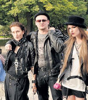 Агата с мужем Андреем КНЯЗЕВЫМ и Валериец Гай Германикой