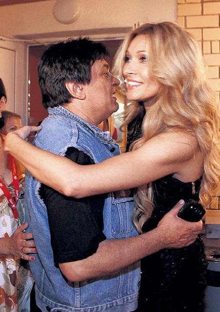 Александр СЕРОВ, как мог, утешал Анжелику АГУРБАШ после её развода с «колбасным королём»