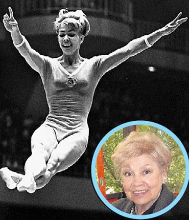 Беременность не помешала Ларисе ЛАТЫНИНОЙ выиграть чемпионат мира в 1958 году
