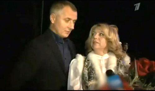 Александр ЮРПАЛОВ и Ольга КОНЯХИНА на конкурсе «Калина Красная»