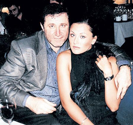 Костя Пекинский со своей последней любовницей, певицей Таней ЛИХАЧЁВОЙ