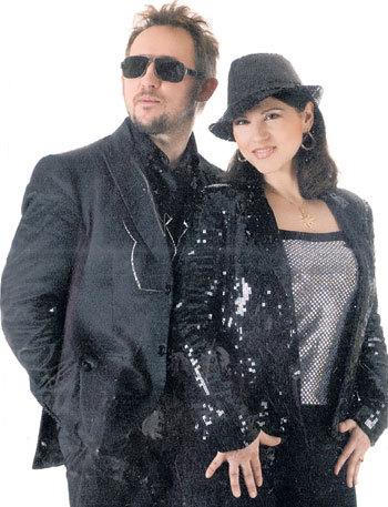 С женой Робертой Дмитрий КУЗНЕЦОВ познакомился в студии