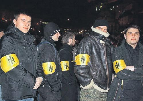 Украинские неофашисты не боятся камеры: нынешняя Европа им только аплодирует