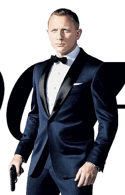 Дэниел КРЭЙГ вжился в роль агента 007