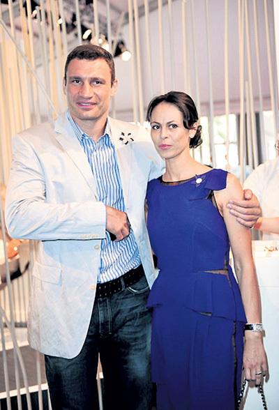 Жена боксёра Наталья КЛИЧКО оказалась перед нелёгким выбором