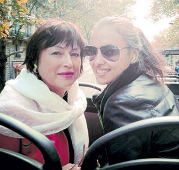 Мама и Ира