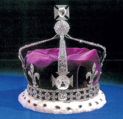 На короне британского монарха ворованный алмаз