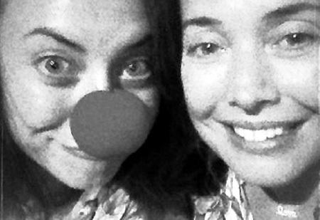 С сестрой Наташей (март, 2013г.). Фото: instagram.com