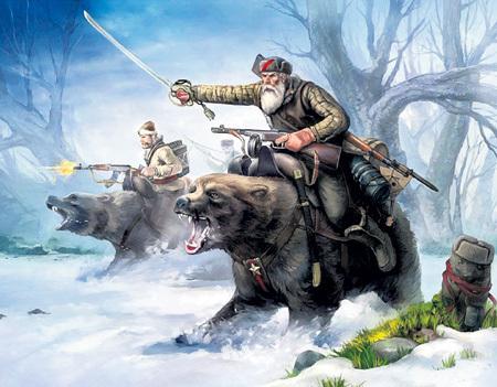 С БАБАЯ можно рисовать иллюстрации к русским былинам