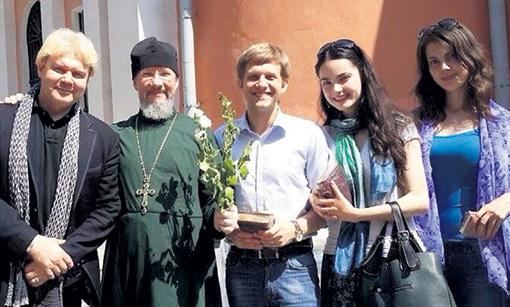 Павел корчевников и его жена фото свадьба