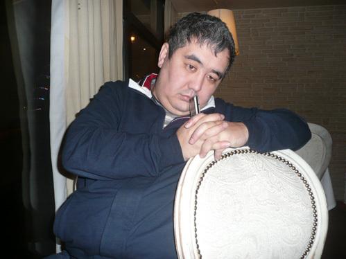Жалгас ХАСЕНОВ. Фото Михаила ФИЛИМОНОВА