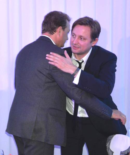 Пока Михалков и Башаров обнимались...