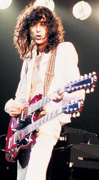 Джимми ПЕЙДЖ вошёл в историю рок-музыки как гитарист-виртуоз