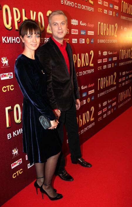 Сергей СВЕТЛАКОВ с женой Антониной. Фото Ларисы КУДРЯВЦЕВОЙ