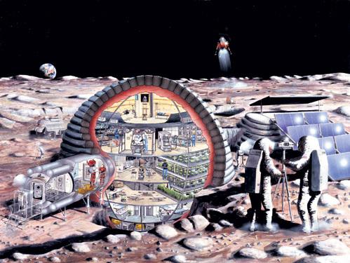 Обживать Луну начнут с создания форпоста