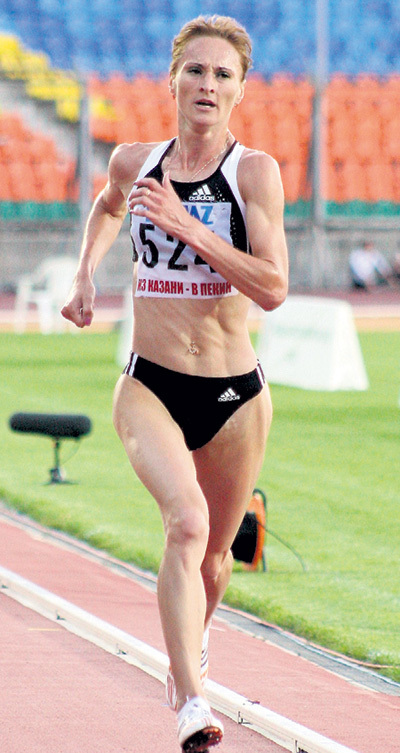 На Олимпиаде в Лондоне Лилия ШОБУХОВА сошла с дистанции. Выходит, зря платила? Фото Руслана ИШМУХАМЕТОВА/«Советский спорт»