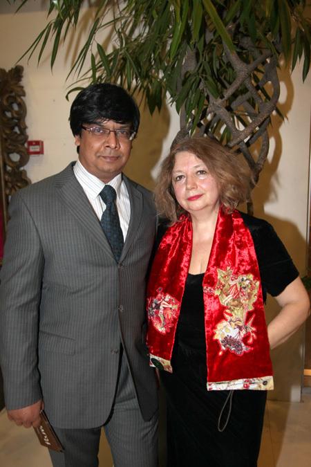 Мария АРБАТОВА с мужем Шумитом
