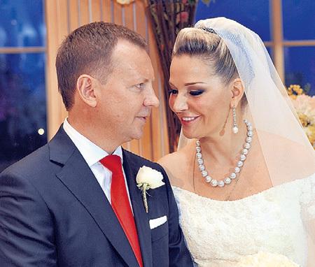 Денис и Мария поклялись быть вместе и в радости, и в горе. Фото Евгении ГУСЕВОЙ/«Комсомольская правда»