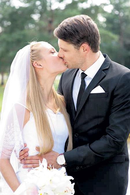 С бывшей женой ЖИДКОВА - Татьяной АРНТГОЛЬЦ актёр сыграл в сериале «Соблазн»