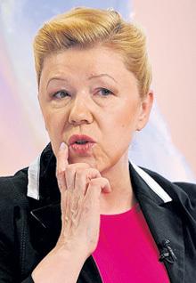 Депутат Елена МИЗУЛИНА