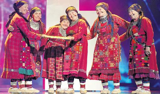 Пенсионерки из села Бураново растрогали сердца миллионов. Фото Анатолия ЖДАНОВА/«Комсомольская правда»