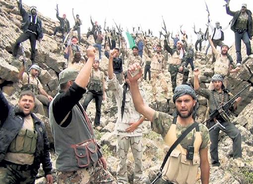 Бандитский интернационал, воюющий сейчас в Сирии, в 90-х под американским руководством бесчинствовал в Чечне