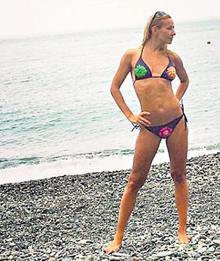 Точеная фигурка Тани - украшение любого пляжа. Фото: Instagram.com