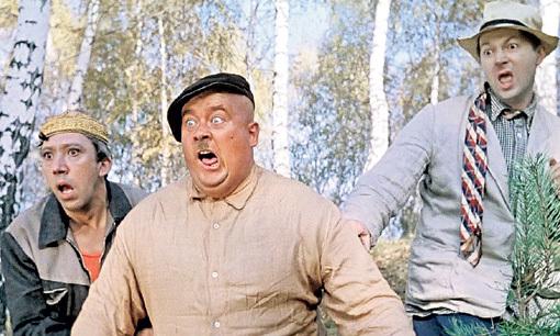 «Пёс Барбос и необычный кросс» - первая комедия с участием трио ВИЦИНА, МОРГУНОВА и НИКУЛИНА