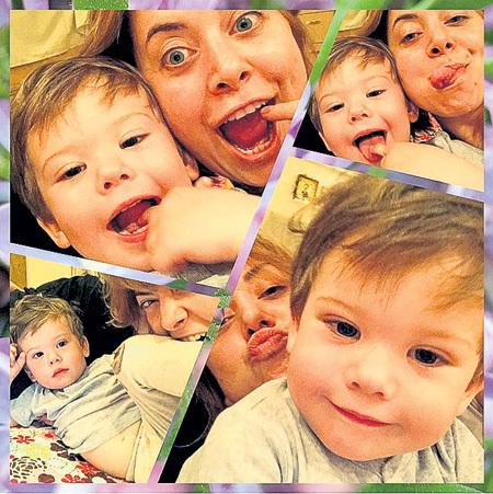 Наташа ещё недавно пачками выкладывала в «Инстаграм» фото с маленьким Платошей, а теперь этого не делает... Фото: Instagram.com