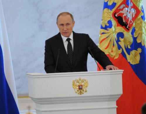 Владимир ПУТИН (Фото Владимира ВЕЛЕНГУРИНА)