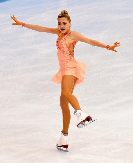 В Пекине бронзовый призёр чемпионата мира запаниковала. Фото Дарьи ИСАЕВОЙ/«Советский спорт»