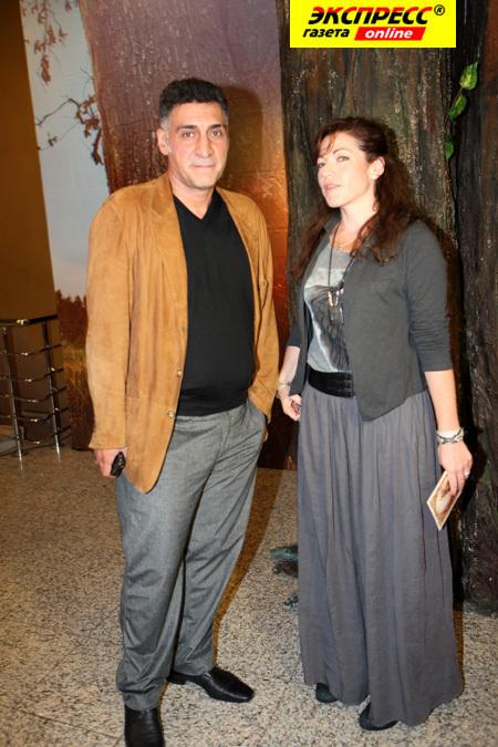 Алёна ХМЕЛЬНИЦКАЯ и Тигран КЕОСАЯН (Фото Ларисы КУДРЯВЦЕВОЙ)