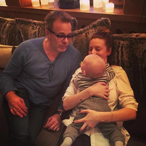 Владимир ПРЕСНЯКОВ и Наталья ПОДОЛЬСКАЯ с сыном Артемием (фото Instagram.com)