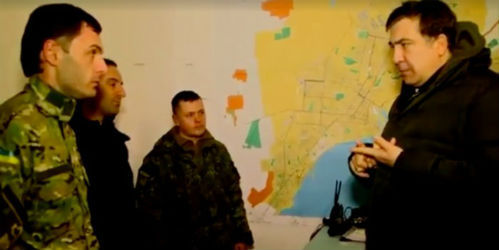 Михаил СААКАШВИЛИ (Кадр из видео)