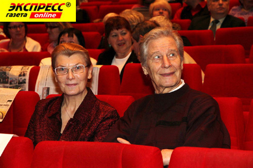 Геннадий ЮХТИН с женой Лидией