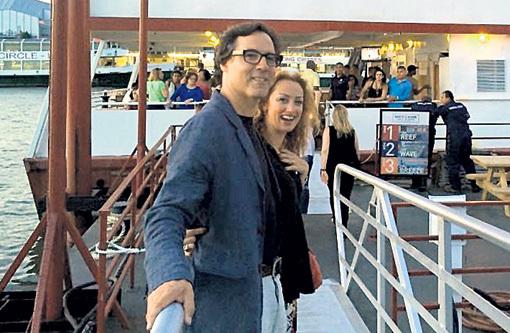 Катя ДОБРЫНИНА-МАКГАФФИ нашла счастье в США с мужем Шейном. Фото из личного архива
