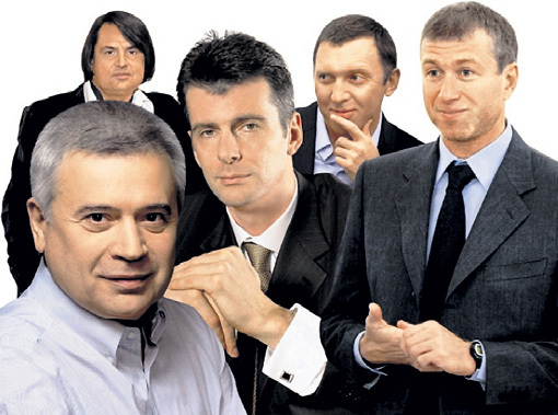 Олигархов стало меньше, но они по-прежнему владеют 35 процентами всех богатств России. Фото с сайта putnik-76.livejournal.com
