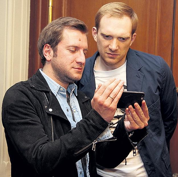 ГИГИНЕИШВИЛИ и БУРКОВСКИЙ: первый стал продюсером проекта, а второй сыграл в нём продюсера