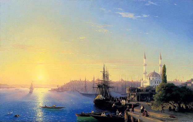 За эту красоту под названием «Вид Константинополя и Босфора» (1856 г.) кто-то выложил аж пять с небольшим миллиона баксов