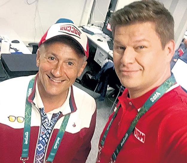...а также с актёром Олегом МЕНЬШИКОВЫМ. Фото: Instagram.com