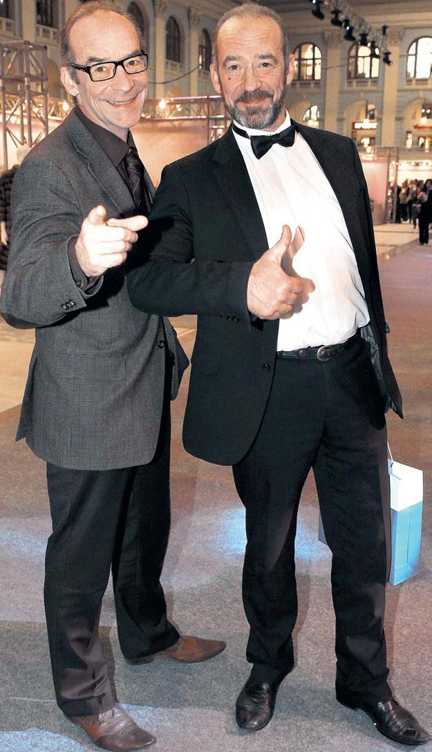 Владимир и Юрий... Фото с сайта personastars.com