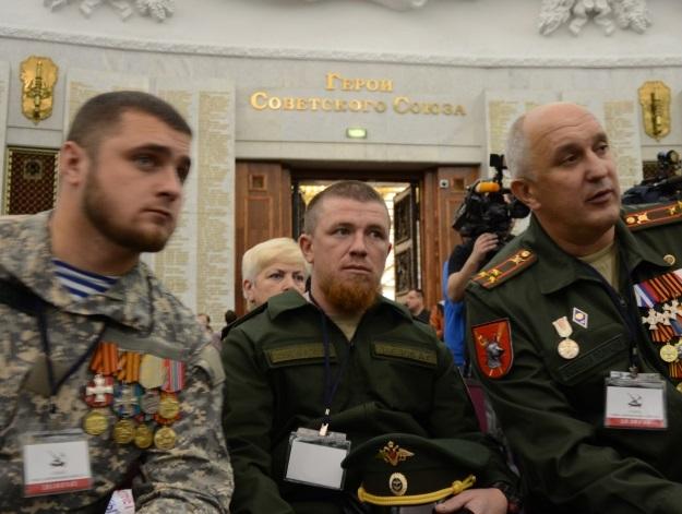 Павлов на первом съезде организации «Союз добровольцев Донбасса» (Фото: Александр Бойко/
