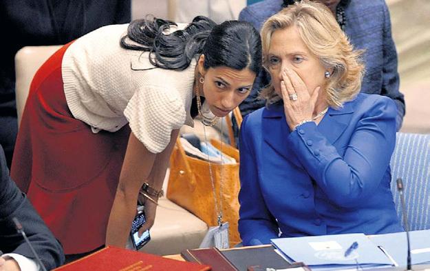 Все в Белом доме знали, что госсекретарь США проводит с Хумой АБЕДИН времени больше, чем с собственным мужем
