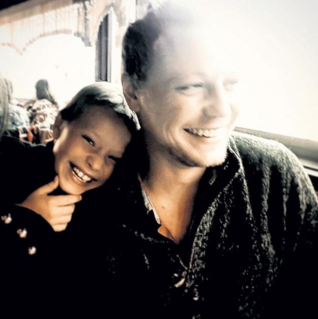 Сын Даниэль принял нового мужчину мамы как родного. Фото: Instagram.com/davidova