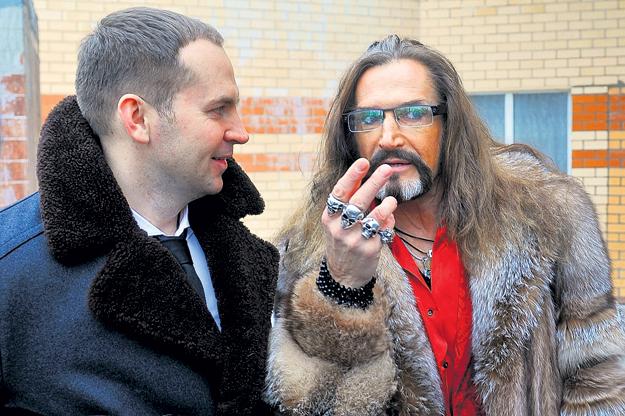 Ещё недавно адвокат ЖОРИН и артист ДЖИГУРДА неплохо ладили. Фото Евгении ГУСЕВОЙ/«Комсомольская правда»