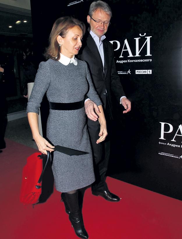 Министр сельского хозяйства Александр ТКАЧЁВ пришёл с супругой Ольгой
