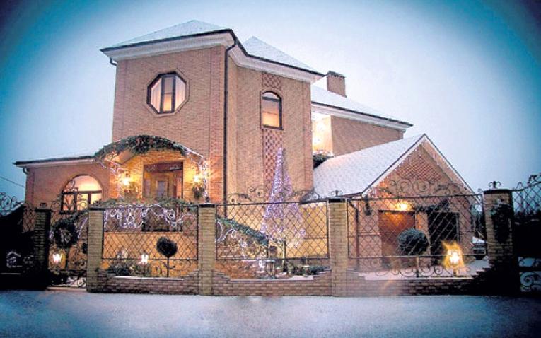 Шикарный дом Вячеслава ЦЕПОВЯЗА в Кущёвке. Фото: Соцсети