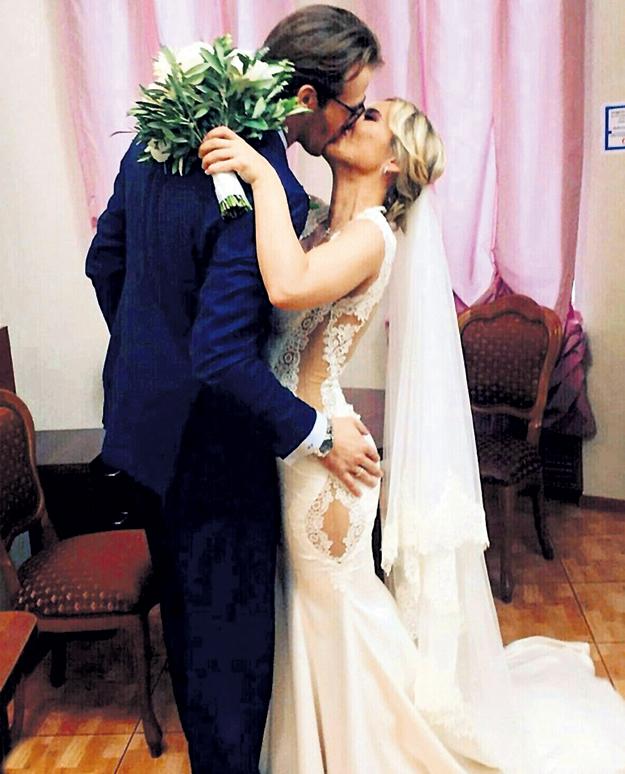 Летом прошлого года Ваня и Поля стали мужем и женой. Фото: Instagram.com